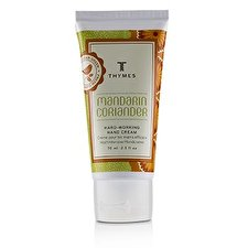 Thymes Mandarin Coriander Hard Working Hand Cream 70ml/2.5oz