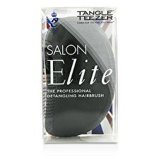 Tangle Teezer Salon Elite Professional Detangling Hair Brush - Midnight Black (For Wet & Dry Hair) 1pc