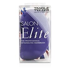 Tangle Teezer Salon Elite Professional Detangling Hair Brush - # Purple Crush (For Wet & Dry Hair) 1pc