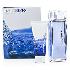 L'Eau Par Kenzo Coffret: Eau De Toilette Spray 100ml/3.4oz + Hair & Body Shampoo 75ml/2.5oz 2pcs