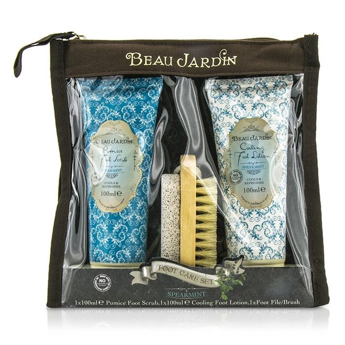 Heathcote ivory beau jardin spearmint foot care set for Beau jardin hand cream collection