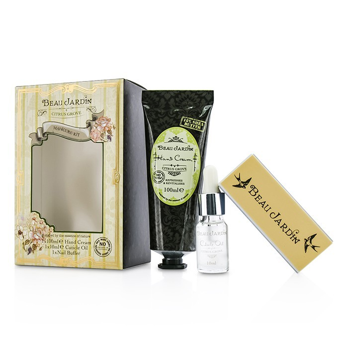 Heathcote ivory beau jardin citrus grove manicure for Beau jardin hand cream collection