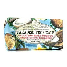 Nesti Dante Paradiso Tropicale Triple Milled Natural Soap - St. Barth's Coconut & Frangipani 250g/8.8oz