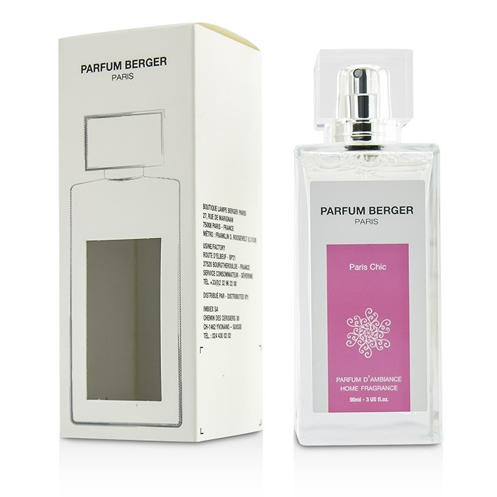 le berger home fragrance spray chic 90ml cosmetics now new zealand