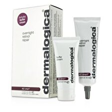 Dermalogica Alter Smart Set: Über Nacht Retinol Repair 30ml + Puffer Creme 15ml 2St