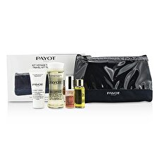 Payot Travel Kit Top To Toe Set: Cleansing Oil 50ml + Cream 15ml + Elixir D'Ean Essence 5ml + Elixir Oil 10ml + Bag 4pcs + 1bag