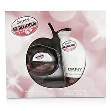 DKNY Be Delicious Frische Blossom Coffret: Eau de Parfum Spray 50ml/1.7oz + Body Lotion 100ml / 3,4 Unzen 2ST