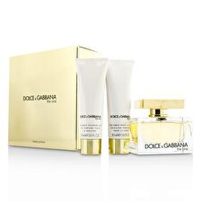 Dolce & Gabbana Die One Coffret: Eau de Parfum Spray 75ml/2.5oz + Body Lotion 50 ml / 1,6 Unzen + Duschgel 50 ml / 1,6 Unzen 3pcs