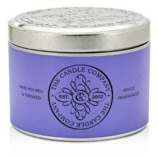 The Candle Company Tin Can Highly Fragranced Candle - French Lavender (8x5) cm