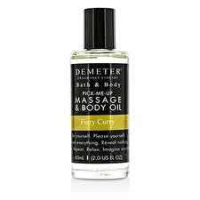 Demeter Fiery Curry Massage & Body Oil 60ml/2oz