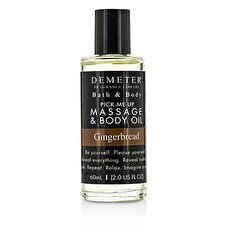 Demeter Gingerbread Massage & Body Oil 60ml/2oz
