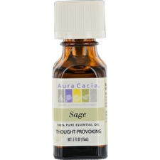 Aura Cacia Essential Oils Aura Cacia Sage-essential Oil 15ml/0.5oz