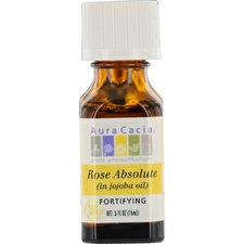 Aura Cacia Essential Oils Aura Cacia Rose Absolute In Jojoba Oil 15ml/0.5oz