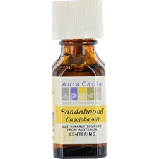 Aura Cacia Essential Oils Aura Cacia Sandalwood In Jojoba Oil 15ml/0.5oz