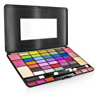 Cameleon Laptop Style MakeUp Kit 8075 (35x EyeShadow, 4x Blusher, 2x Powder Cake, 6x Lipgloss)