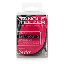 Tangle Teezer Compact Styler On-The-Go Detangling Hair Brush - # Rosa Sizzle 1pc