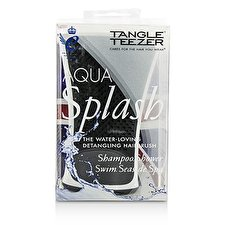 Tangle Teezer Aqua Splash Detangling Dusche Bürste - # Black Pearl (für Nasses Haar) 1pc