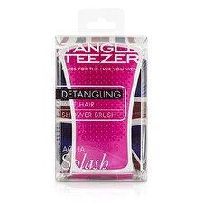 Tangle Teezer Aqua Splash Detangling Shower Brush - # Pink Shrimp (For Wet Hair) 1pc
