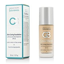 Exuviance CoverBlend Skin Caring Foundation SPF20 - # True Beige 30ml/1oz