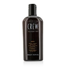 American Crew Men Classic 3-IN-1-Shampoo, Conditioner & Body Wash 250ml/8.4oz