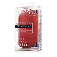 Tangle Teezer Salon Elite Professional Detangling Hair Brush - # Winter Berry (For Wet & Dry Hair) 1pc