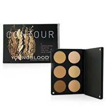 Youngblood Contour Palette For All Skin Tones (3x Highlight Shades, 3x Contouring Shades) 15g/0.48oz