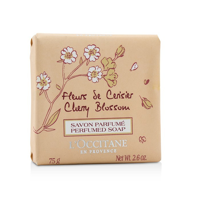 Occitane Cherry Blossom Perfumed Soap Cosmetics