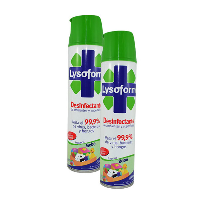 2x Lysoform Disinfectant 257g | Cosmetics Now Australia