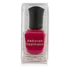 Deborah Lippmann Luxurious Nail Color - The Heat Is On (Scalding Scarlett Creme) 15ml/0.5oz