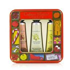 Crabtree & Evelyn Fruit And Botanicals Hand Therapy Tin Set 3x25g/0.9oz