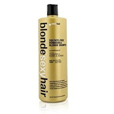 Sexy Hair Concepts Blonde Sexy Hair sulfatfreies Bombe Blonde Shampoo (Daily Farbe Erhaltung) 1000ml/33.8oz
