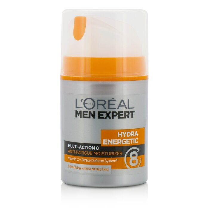 l 39 oreal men expert hydra energetic multi action 8 anti fatigue moisturizer 50ml cosmetics now uk. Black Bedroom Furniture Sets. Home Design Ideas