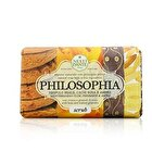 Nesti Dante Philosophia Natural Soap - Scrub - Mediterranean Plum, Persimmon & Amber With Bran & Walnut Granules 250g/8.8oz