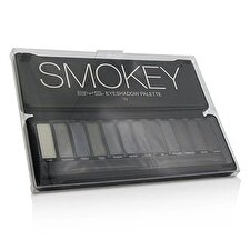 BYS Eyeshadow Palette (12x Eyeshadow, 2x Applicator) - Smokey 12g/0.42oz