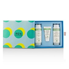 Evercalm Sensitive Skin Kit: 1x Gentle Cleansing Milch, 1x Anti-Rötung Serum 10ml, 1x Globale Schutz Tagescreme 3St 50ml