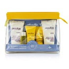 Decleor Hydrating Starter Kit: Cleansing Mousse + Essential Serum 5ml + Light Cream 15ml + Body Milk 50ml + Bag 5pcs+1bag