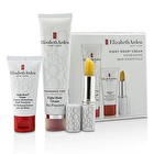 Elizabeth Arden Eight Hour Cream Nourishing Skin Essentials Set: Skin Protectant Fragrance Free+Hand Treatment+Lip Protectant Stick SPF 15 3pcs
