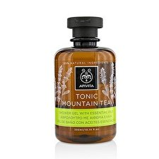 Apivita Tonic Mountain Tea Shower Gel with Essential Oils 300ml/10.14oz
