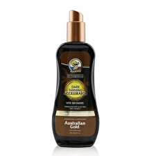Australian Gold Dark Tanning Accelerator Spray Gel With Instant Bronzer 237ml/8oz