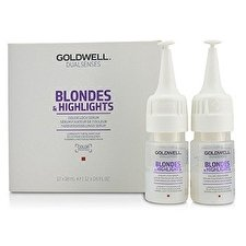 Goldwell Dual Senses Blondes & Highlights Color Lock Serum (Leuchtkraft für blondes Haar) 12x18ml/0.6oz