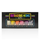 OPI Outrageous Neons Mini Nail Lacquer Set 6pcs
