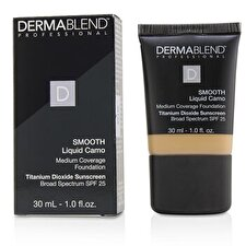 Dermablend Smooth Liquid Camo Foundation SPF 25 (Medium Coverage) - Camel (30N) 30ml/1oz