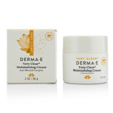 Derma E Very Clear Moisturizing Cream 56g/2oz