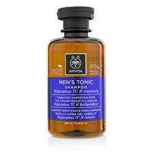 Apivita Men's Tonic Shampoo with Hippophae TC & Rosemary (For Thinning Hair) 250ml/8.45oz