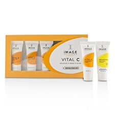 Image Vital C Trial Kit: 1x Cleanser, 1x Serum, 1x Repair Cream, 1x Enzyme Masque, 1x Moisturizer SPF 30 5pcs