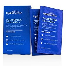 HydroPeptide Polypeptide Collagel+ Line Lifting Hydrogel Mask For Eye 8 Treatments