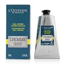 L'Occitane L'Homme Cologne Cedrat After Shave Gel Cream 75ml/2.5oz