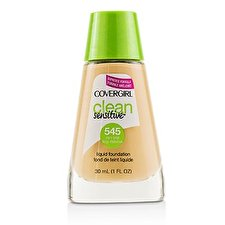 Covergirl Clean Sensitive Liquid Foundation - # 545 Warm Beige 30ml/1oz