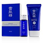 Kose Sekkisei Sun Protect Essence Gel Kit: Sekkisei Sun Protect Essence Gel SPF50+ PA++++ 81ml/2.8oz + Medicated Sekkisei 24ml/0.81oz 2pcs
