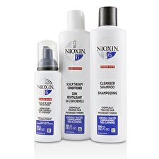 Nioxin 3D Care System Kit 6 - For Chemically Treated Hair, Progressed Thinning 3pcs